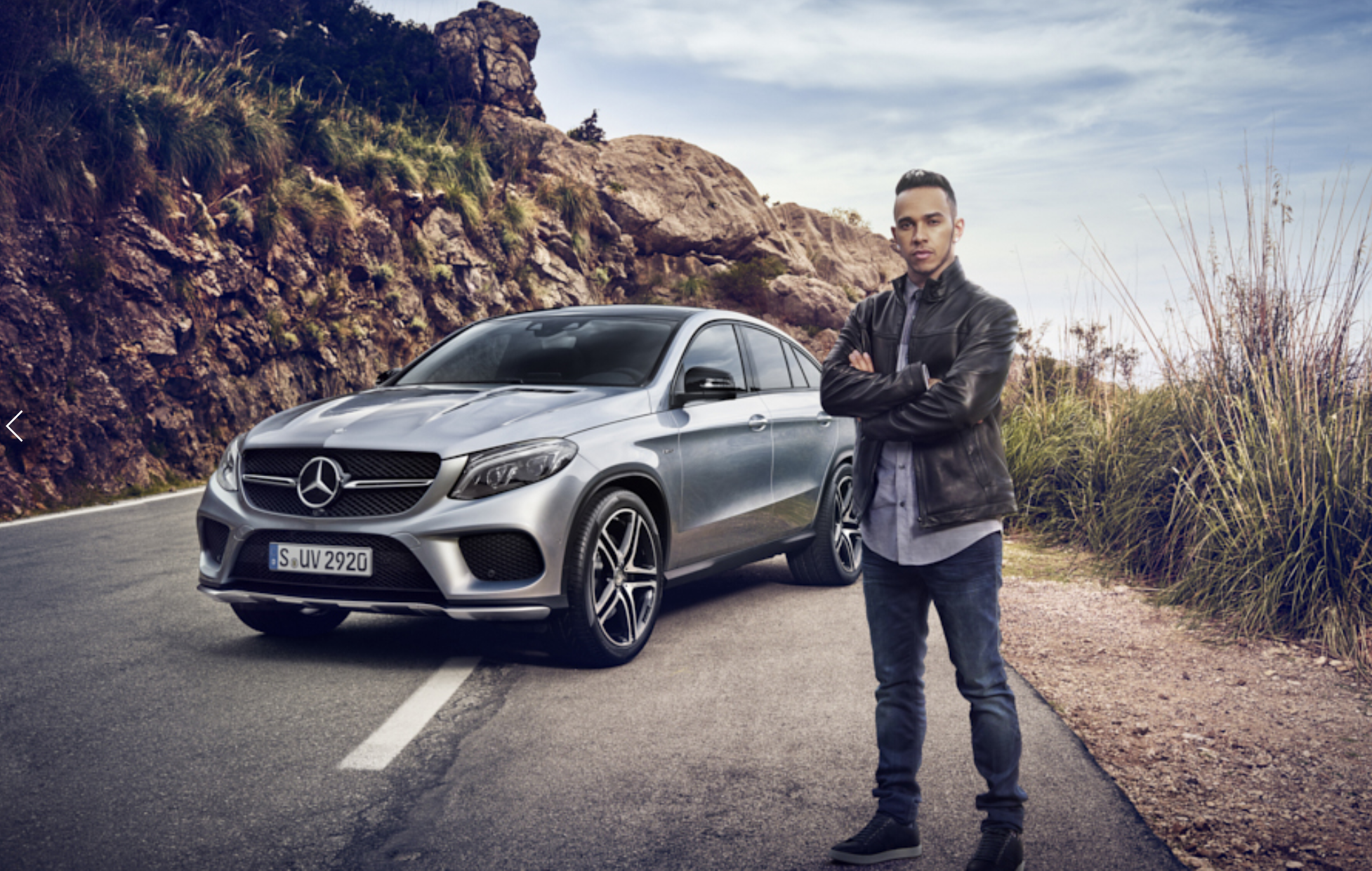 "THE CAMPAIGN - It's all about showing you that the Mercedes SUV range is ""At home in every terrain"". For the campaign, we took five celebrity ambassadors: Formula 1 champion Lewis Hamilton, adventurer Mike Horn, pro surfer Garrett McNamara, show jumper Meredith Michaels-Beerbaum, and top model Petra Némcová."