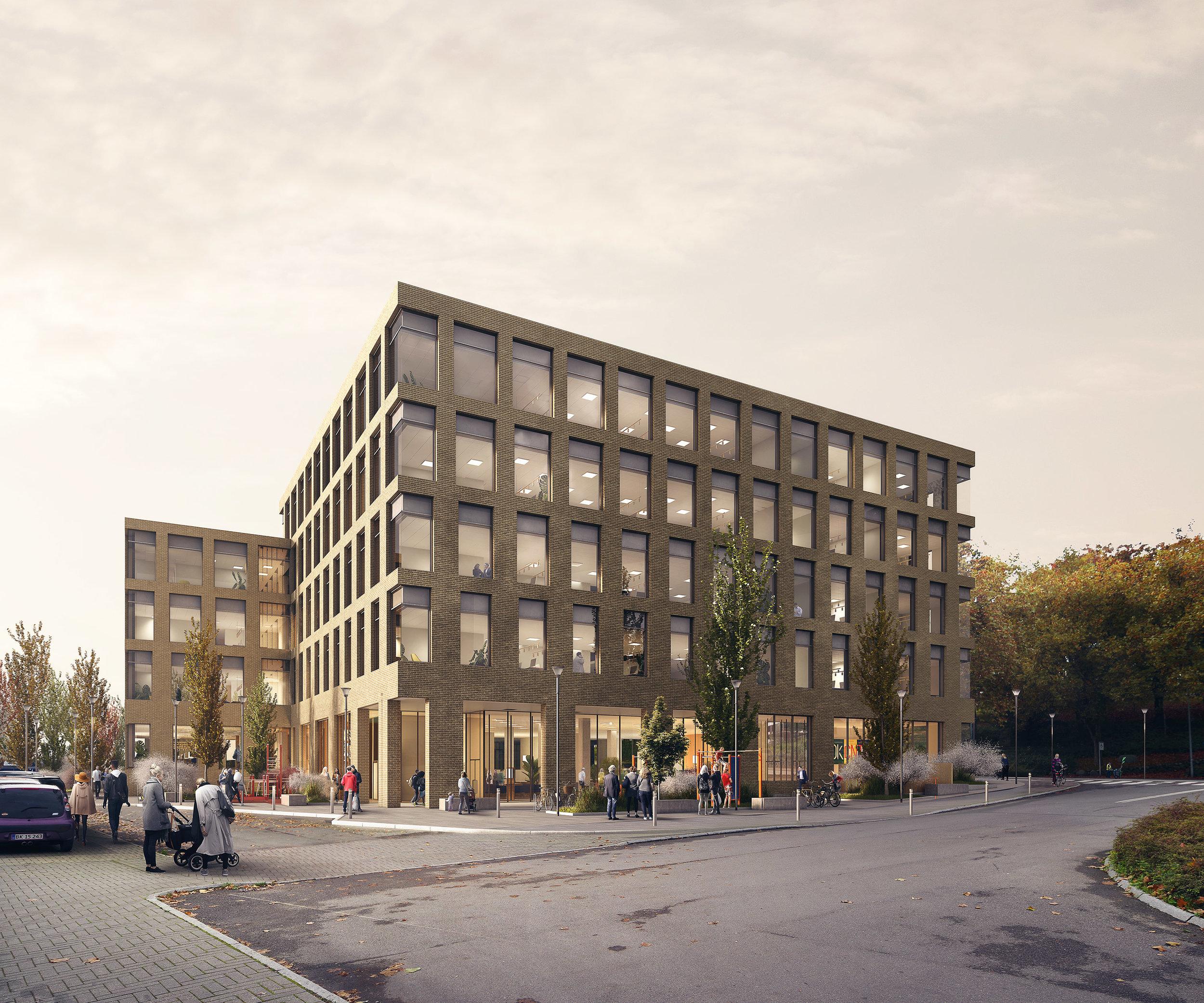 Udlændingestyrrelsen, Næstved DK. Winning competition proposal for  Danish Immigration Service