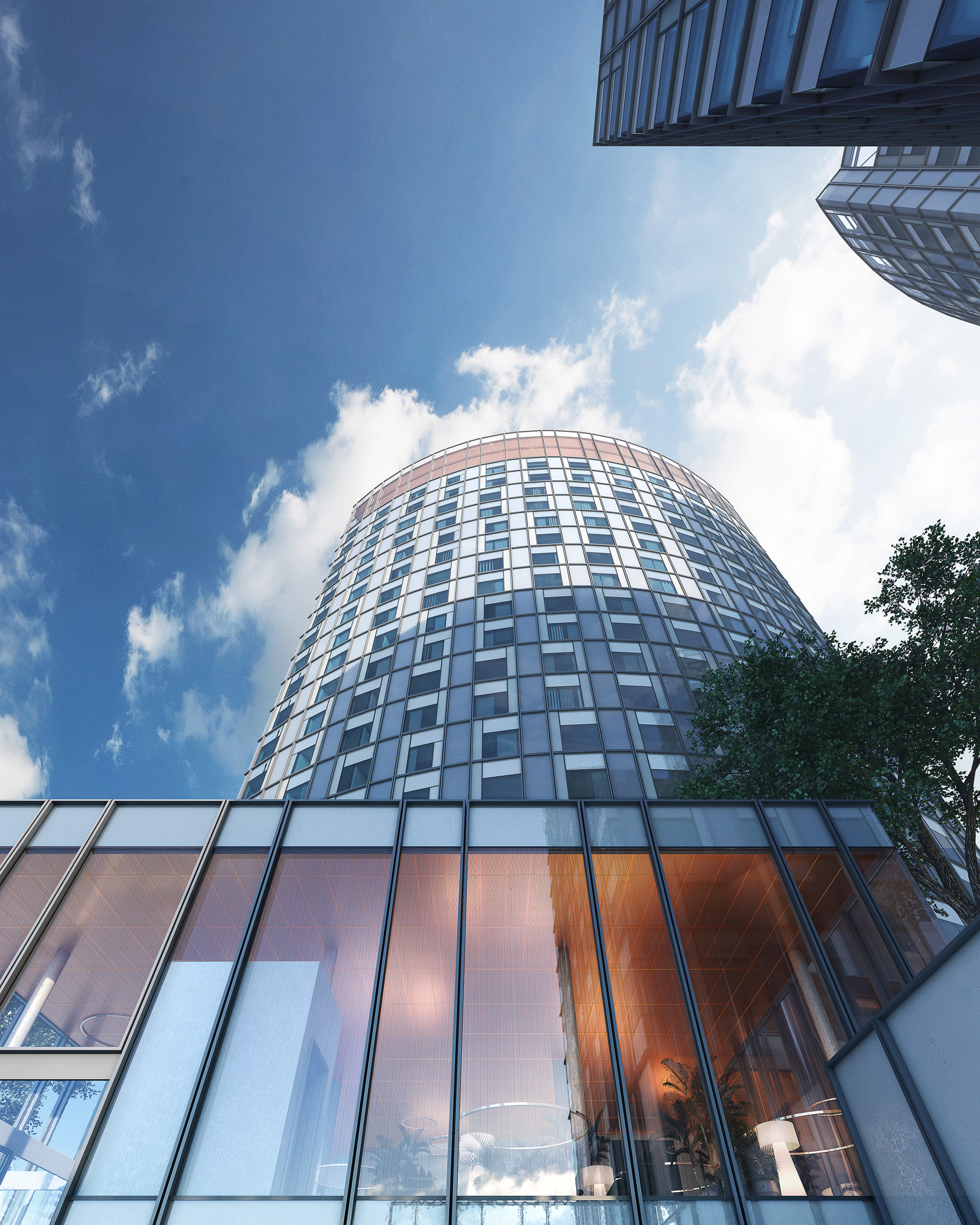 2Amsterdam, Holland. Transformation of two office towers.