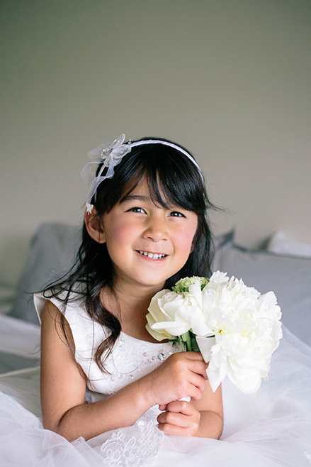 peony posy flower girl auckland wedding flowers florist