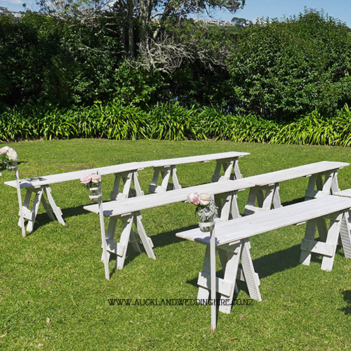 white-wash-wooden-trestle-bench-seats-auckland-wedding-hire.jpg