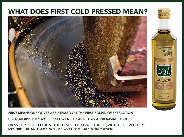 Cold pressed and delicious. Ever wondered what we mean by first cold pressed?