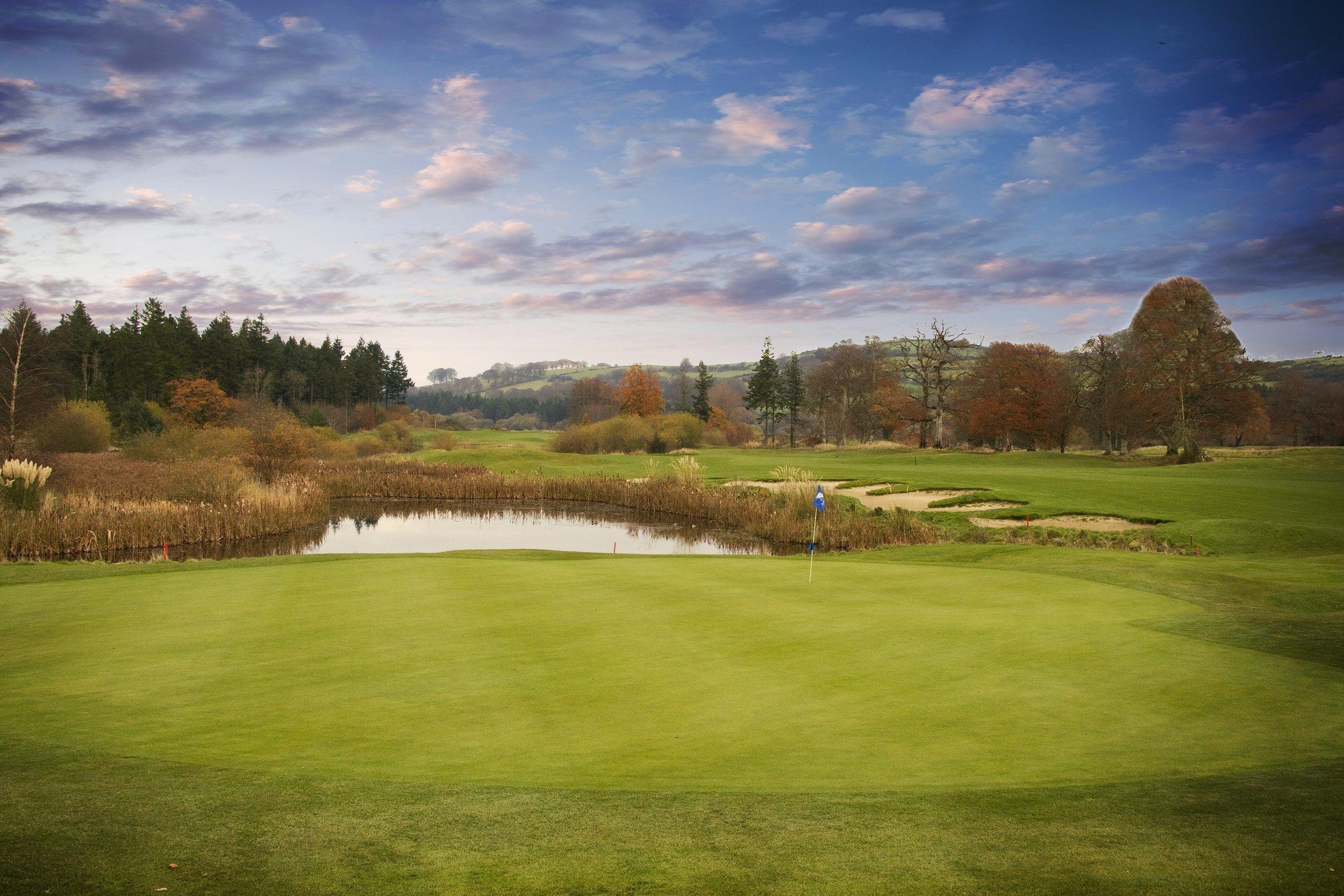 Tulfarris Golf Club 18th hole