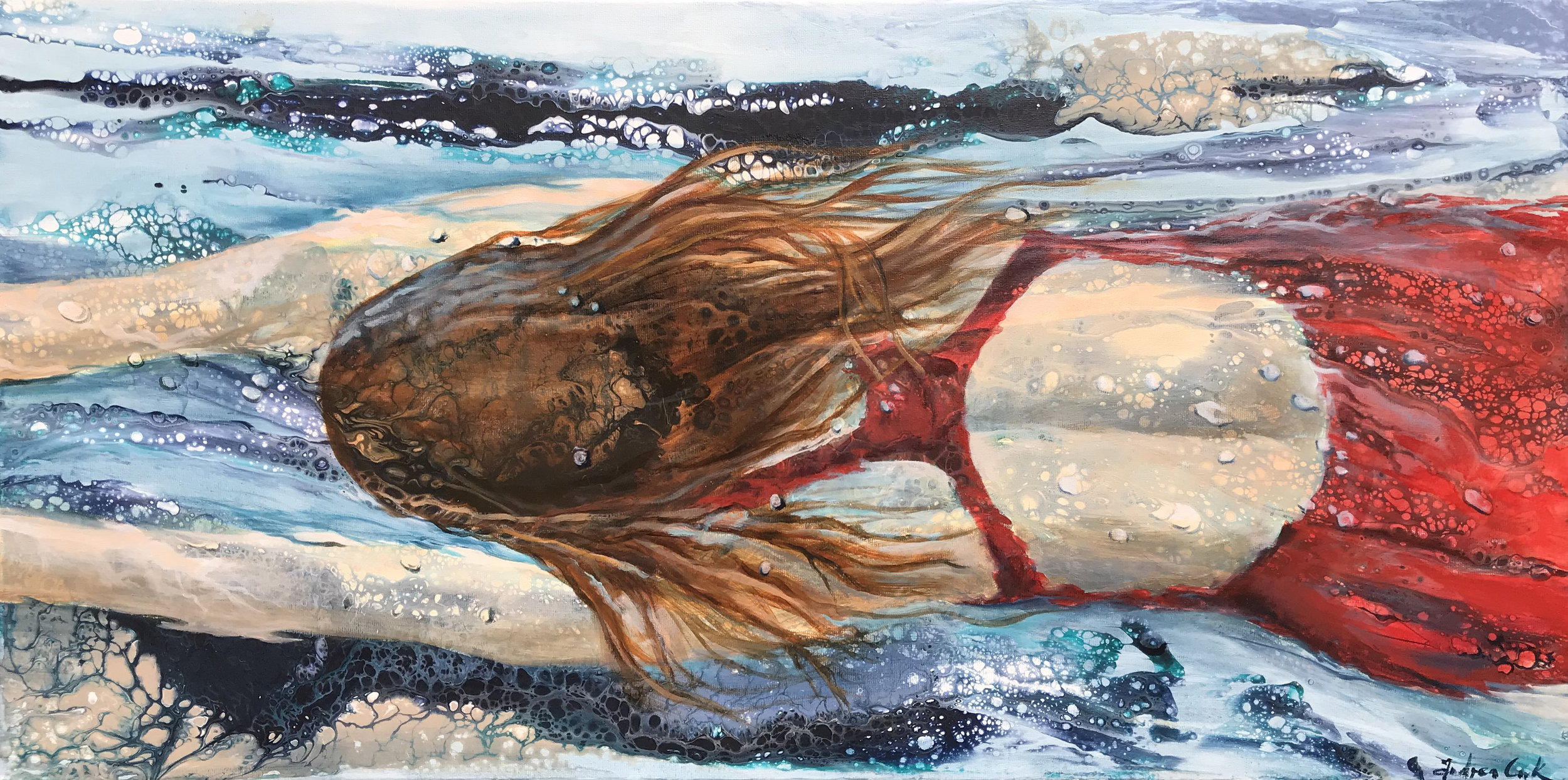 mixed media 40 x 80cm