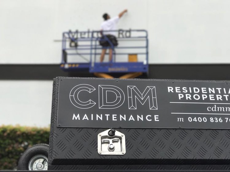 CDM Maintenance's Logo