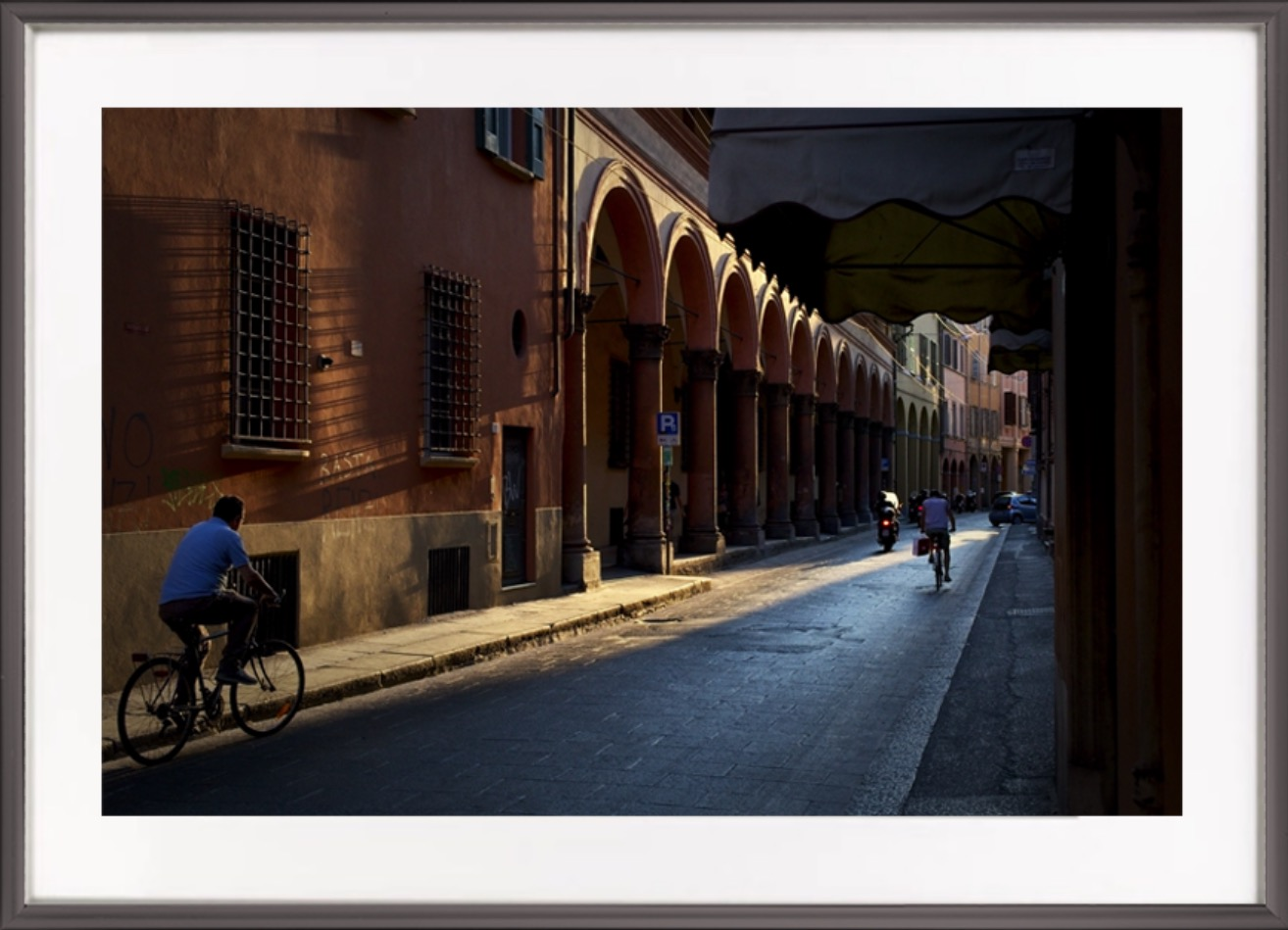 'Memories Captured' - I went to Bologna with my wife and a couple of friends, we loved it. When I saw that Jim had captured the warmth of the place I just had to buy this print. Chris Welsh, Edinburgh