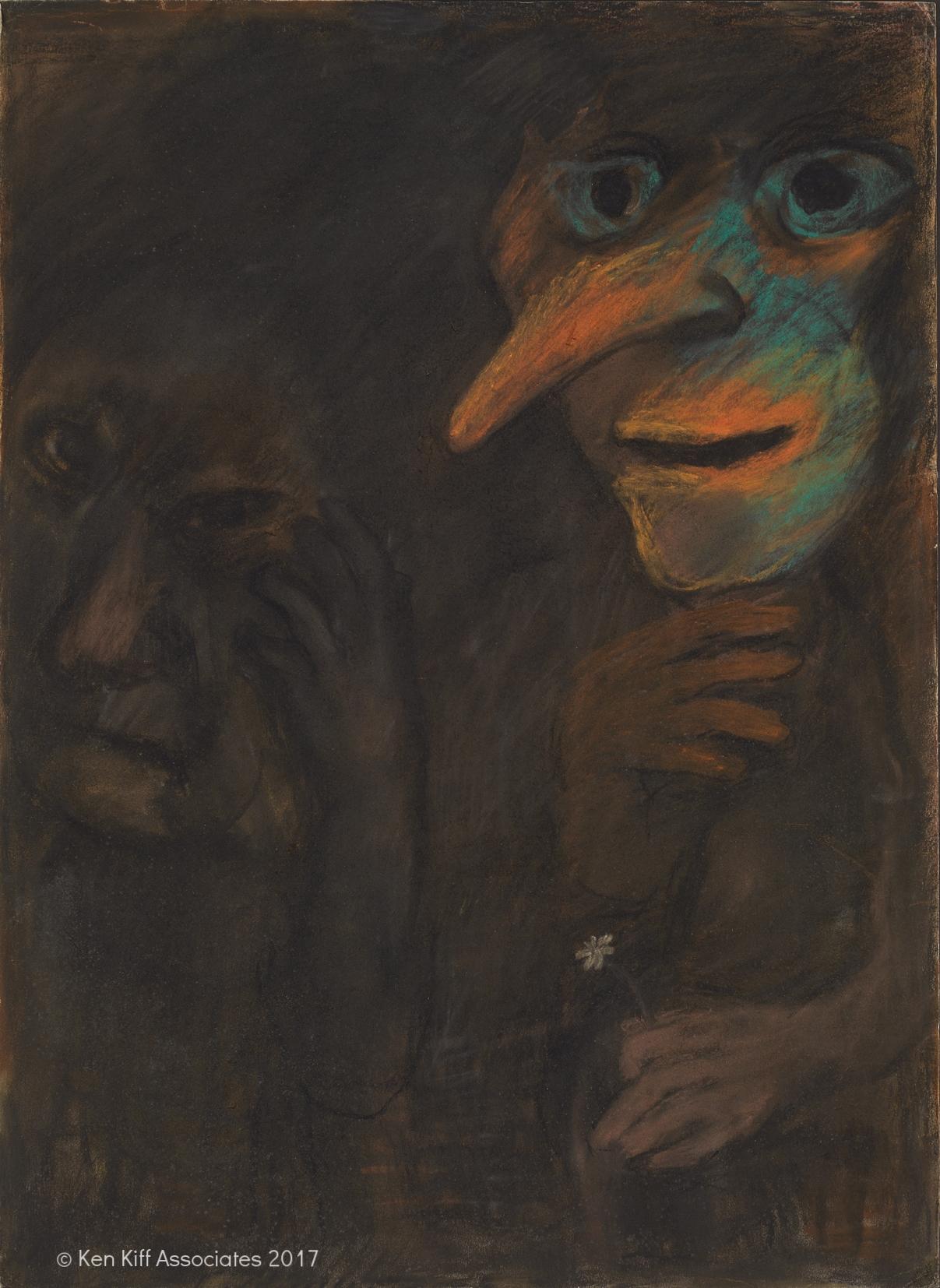 Ken Kiff - Dark Figure