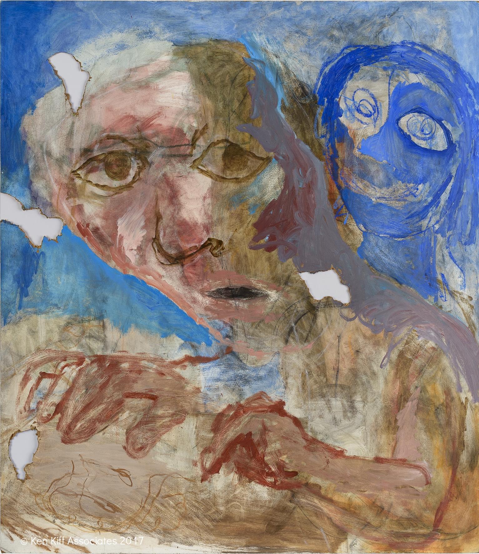 Ken Kiff - Artist and Blue Head