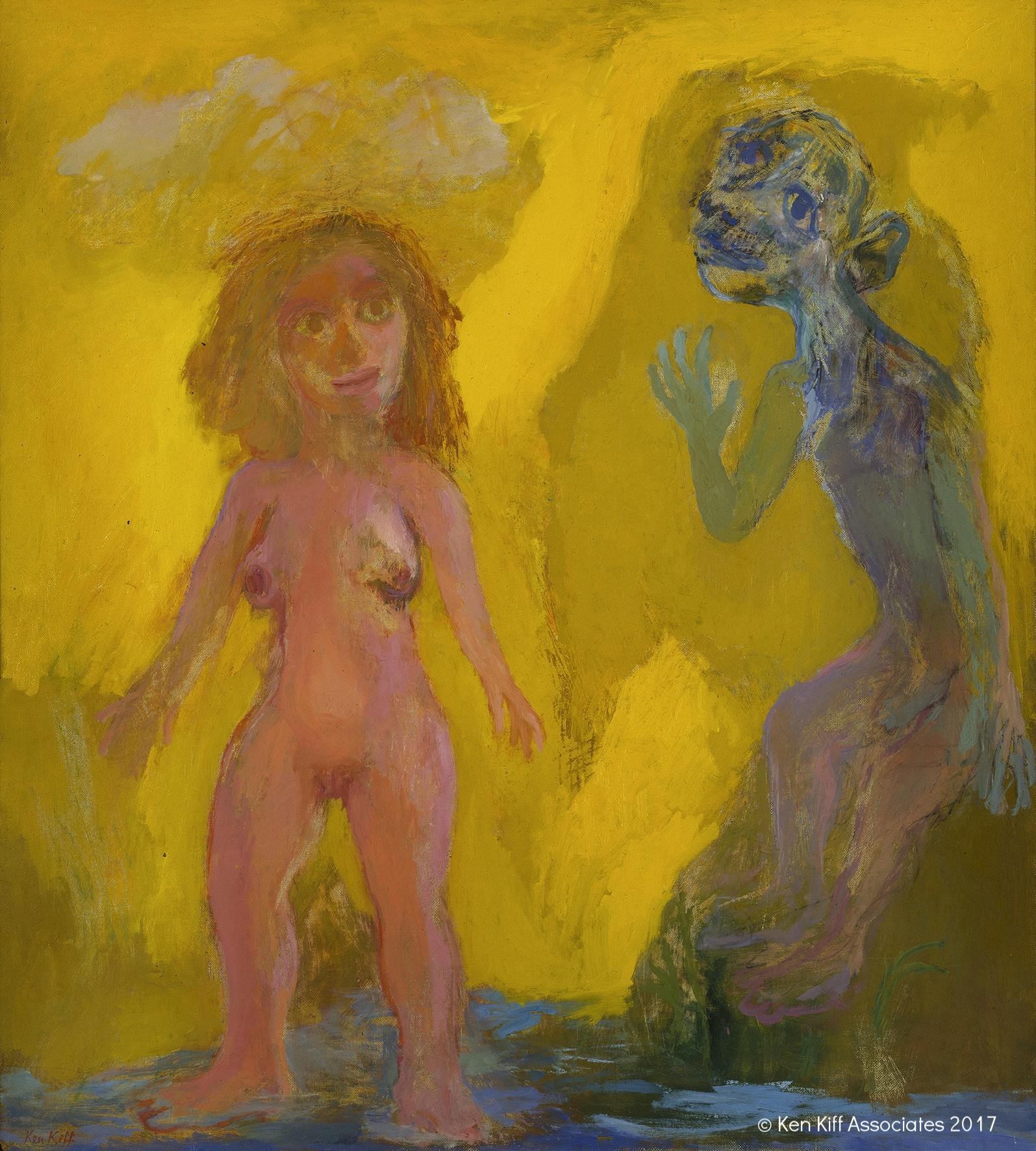 Ken Kiff - Man and Woman