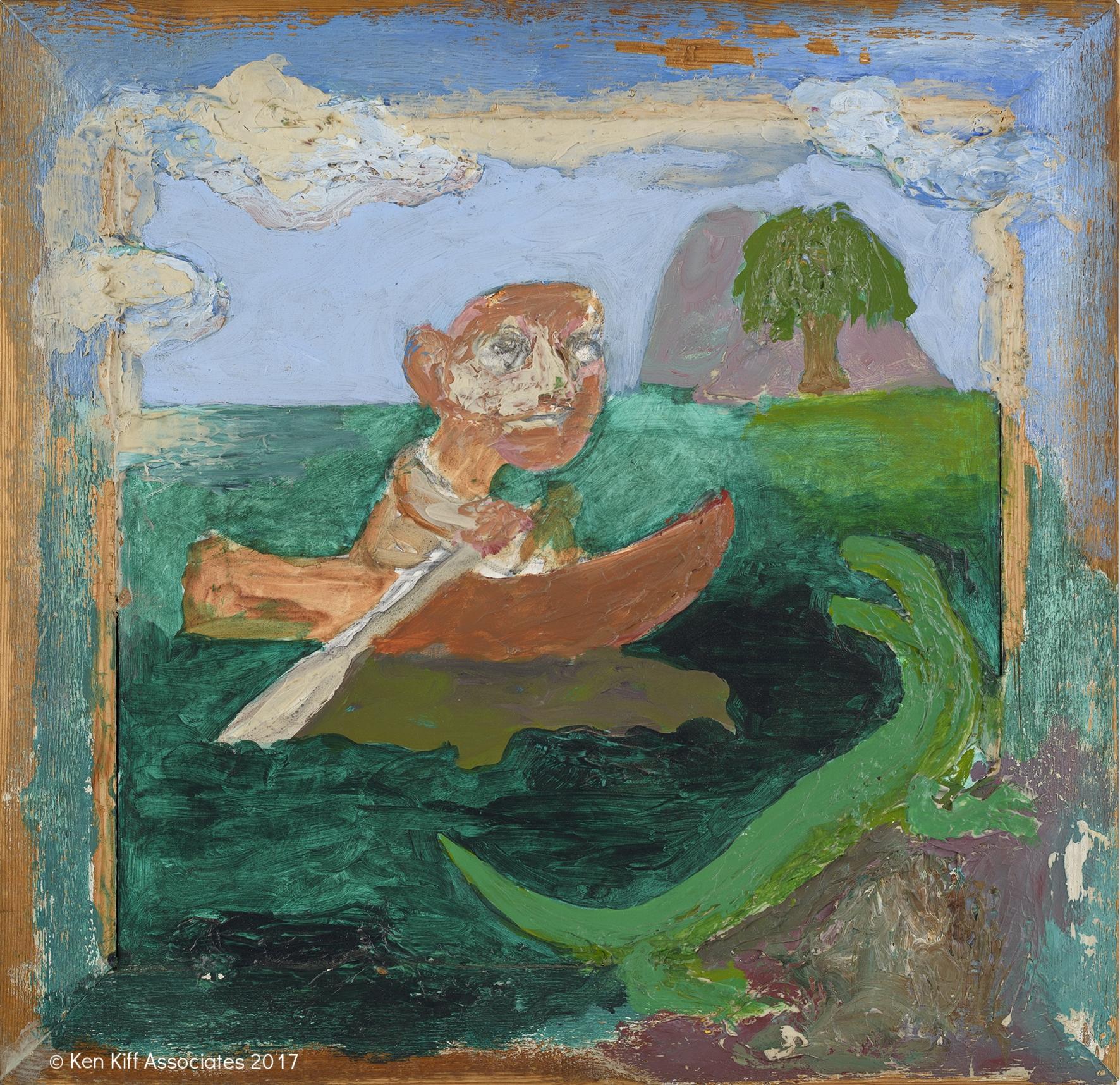 Ken Kiff - Man, Boat and Lizard