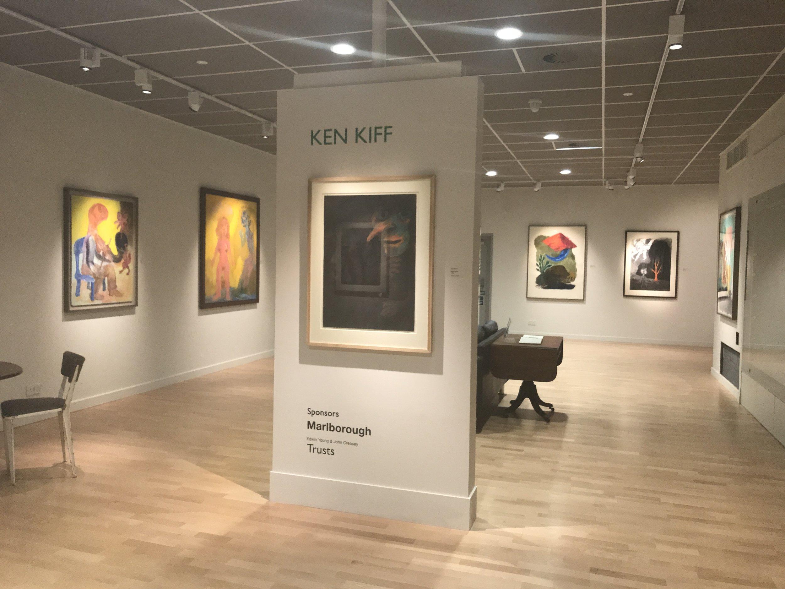 Ken Kiff at the Young Gallery, Salisbury, 2018
