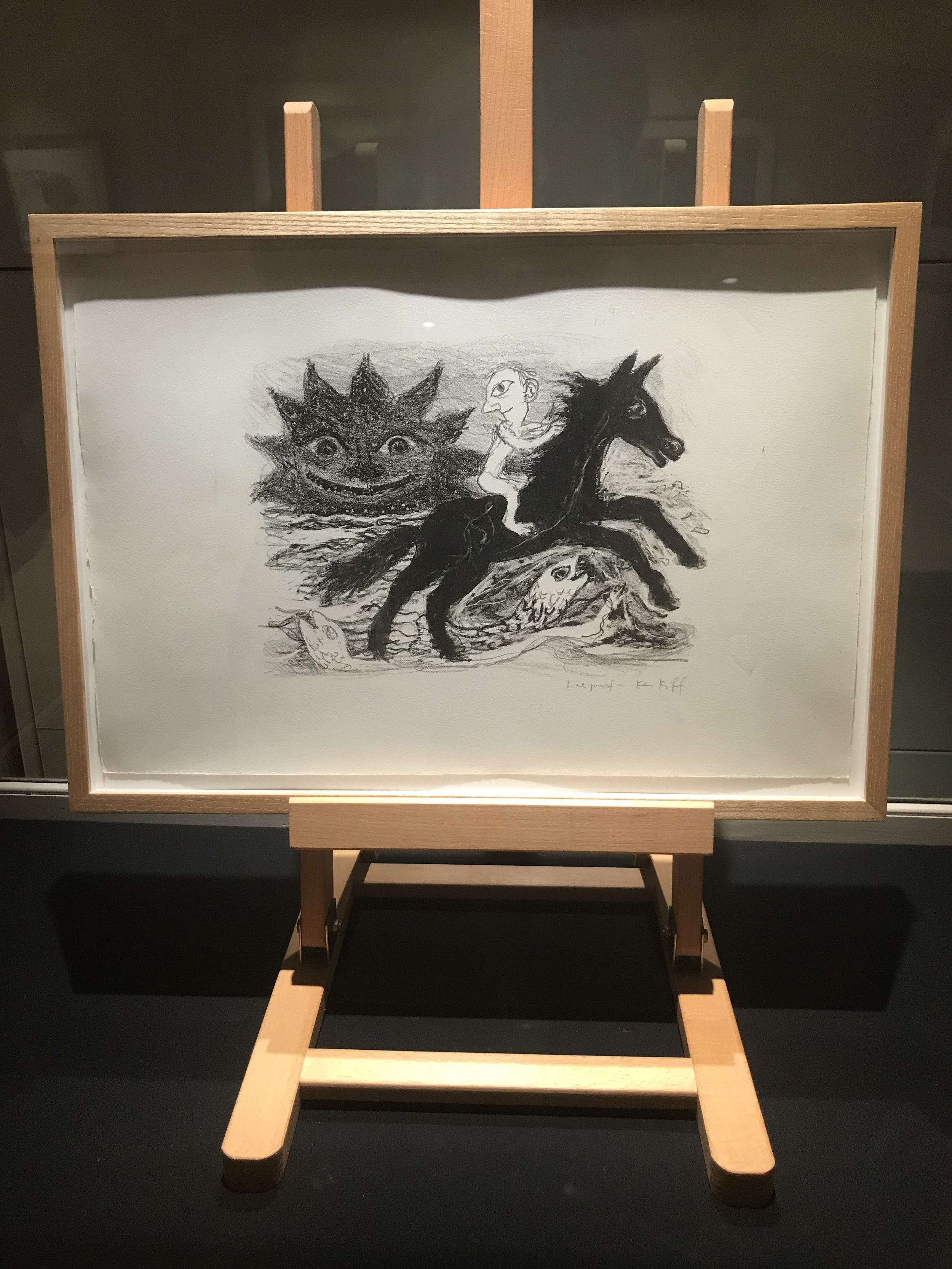Man and Horse, 1995-1991