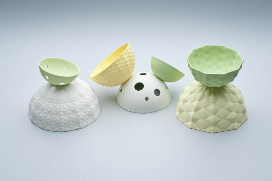 2010 Green Series   imperial Porcelain, Stain, Glaze.