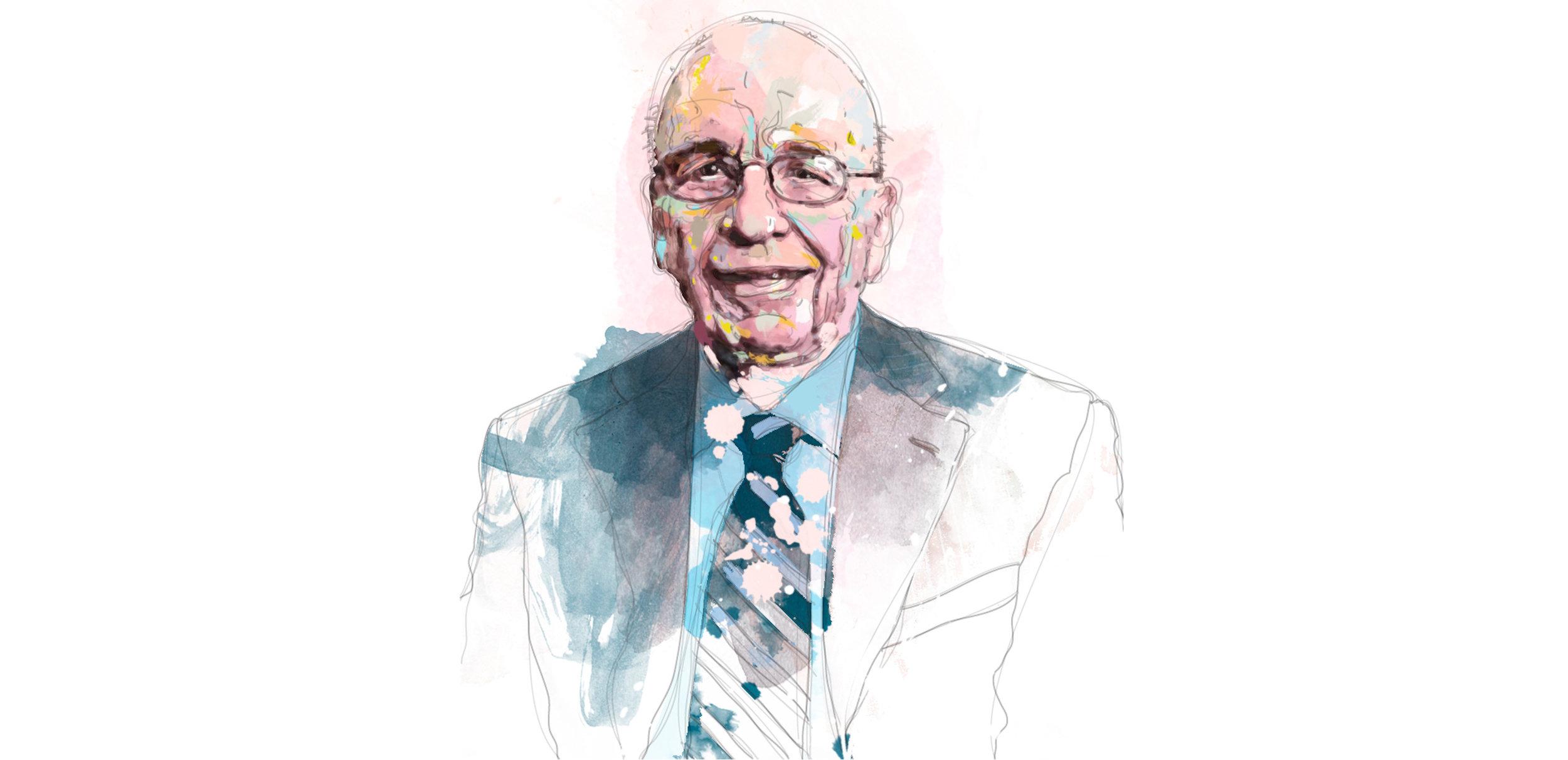 Rupert Murdoch for the Weekend Australian