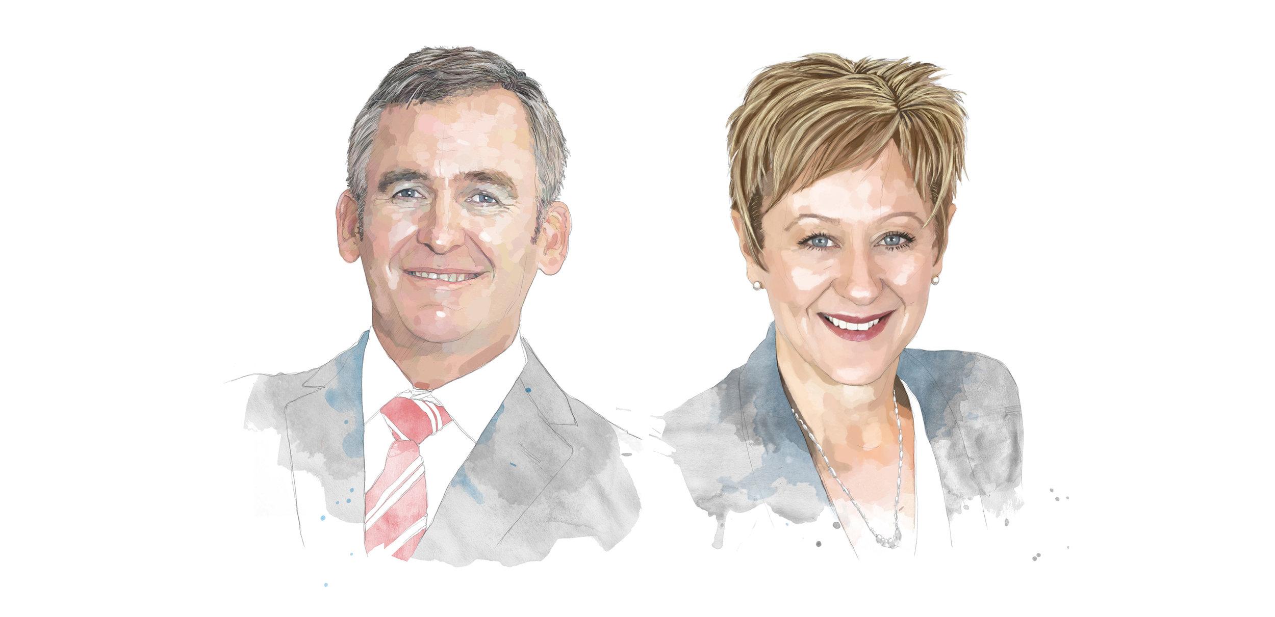 Brad Banducci and Sue Channon for Qantas Inflight Magazine