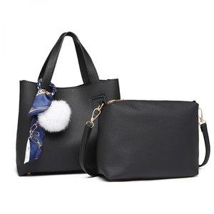 6a92e32e6f1e3 Two-Piece Bag set - Black