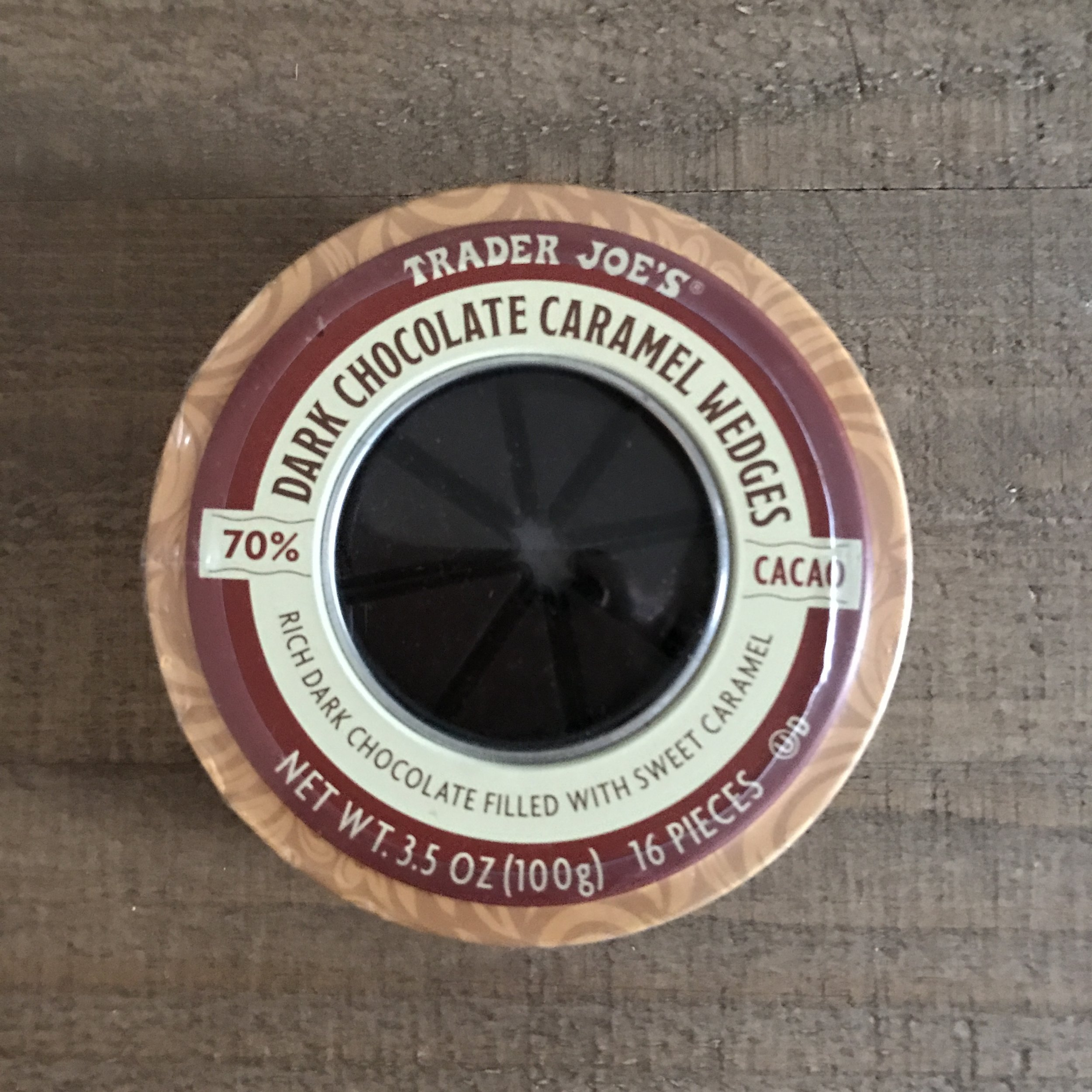 Trader Joe's Caramel Wedges