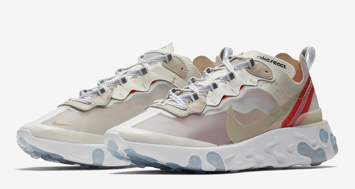 Nike React Element 87 - A Strong Influence