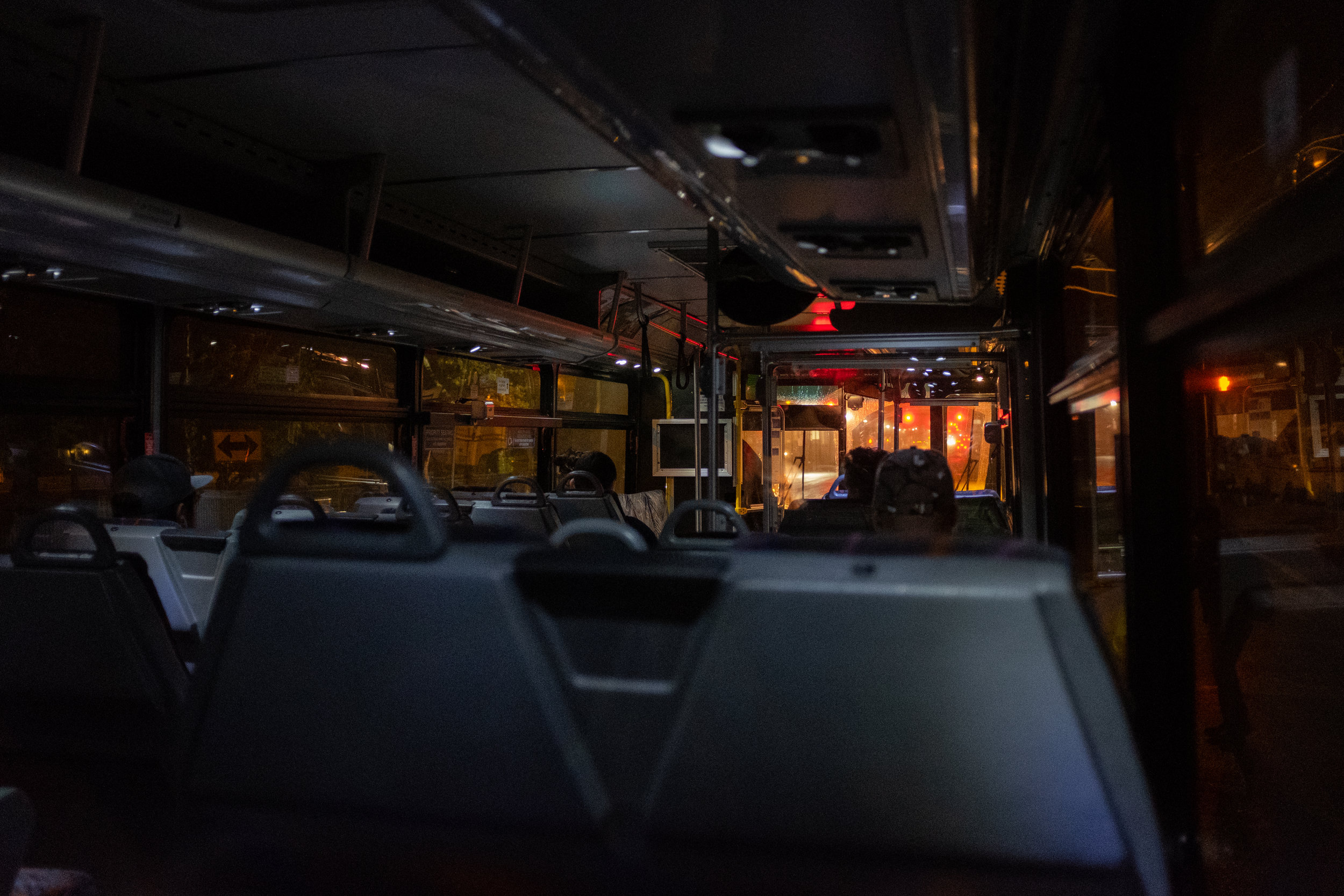 I imagine this bus is my spaceship