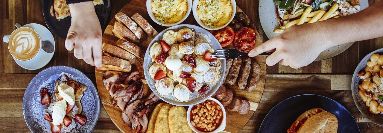 The Village Door Cafe Geelong Platter