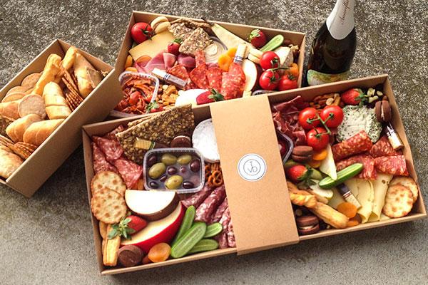 Grazing Boxes - Available for pre-order. Perfect for picnics, parties and gatherings.