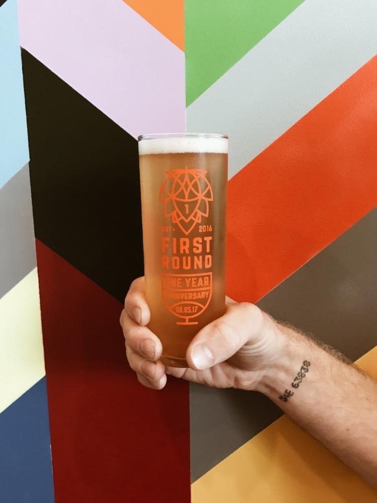 Wild Mind Artisan Ales - First Round Glass