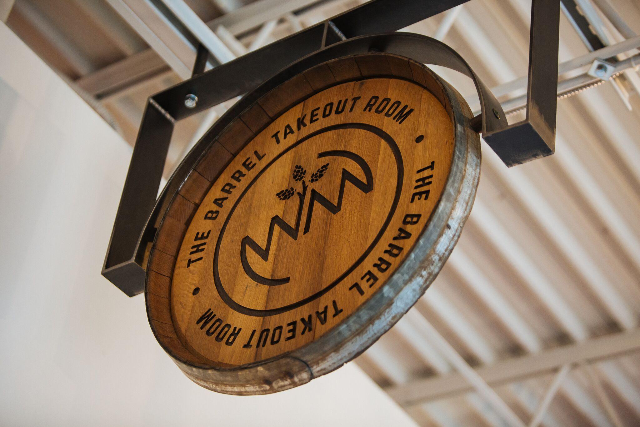 Wild Mind Artisan Ales - The Barrel Takeout Room Sign.jpeg
