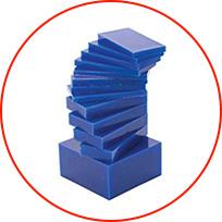 Types of wax used at Dalton CNC.