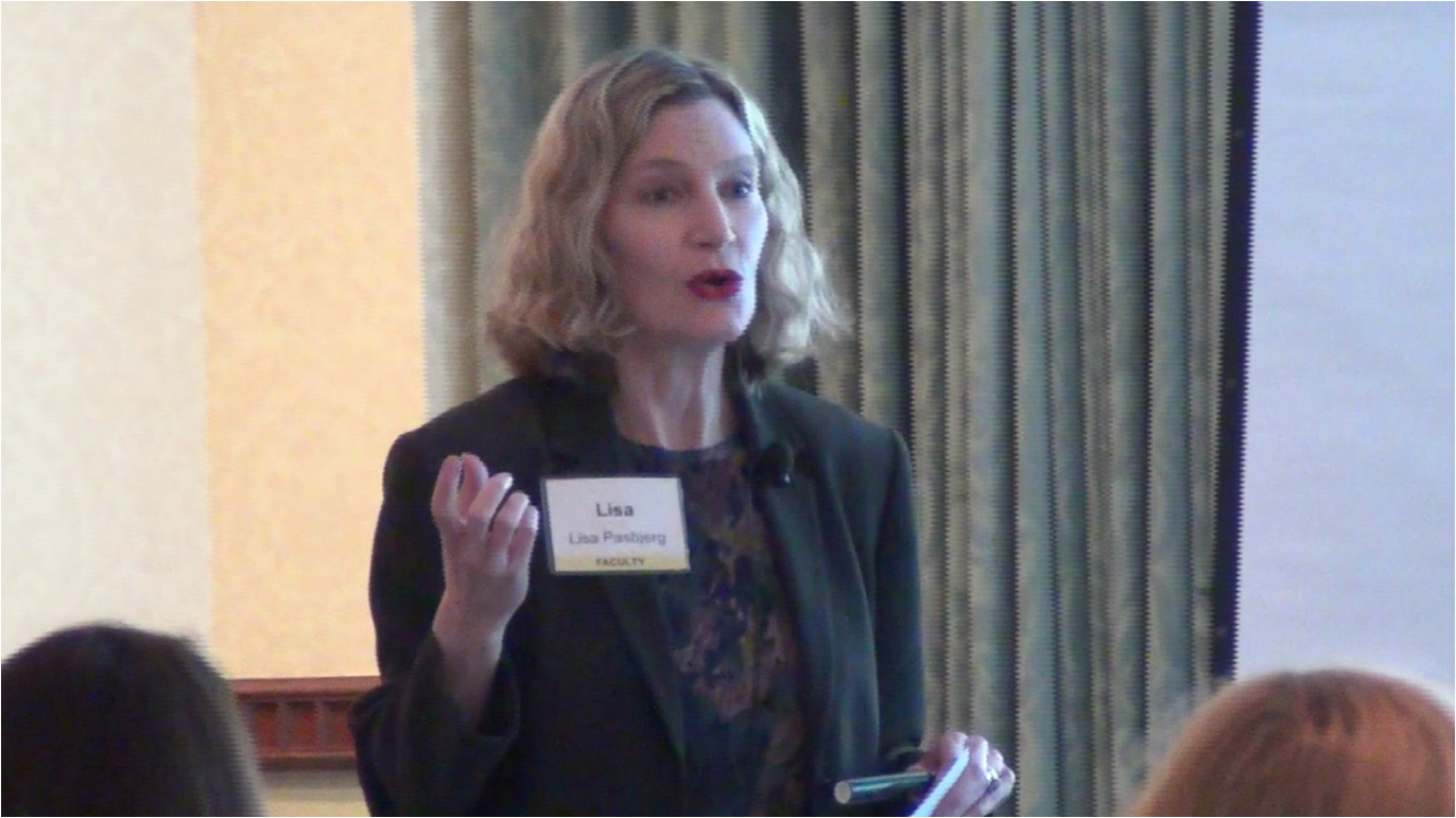 Lisa Presenting at the Cleveland Clinic Women in Healthcare Forum