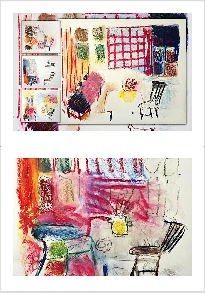 """Bilde : Fra Artist's Book """"SÅ MERKELIG""""."""
