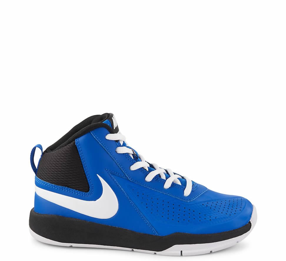 Boys' Nike Team Hustle D7 PS Mid Cut