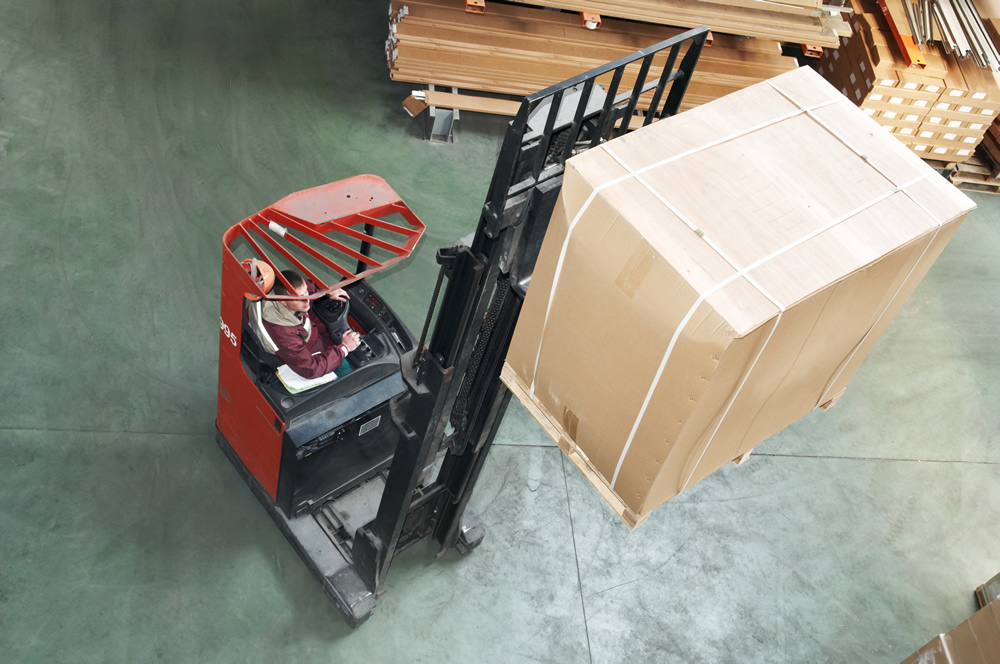 warehousing product for resale