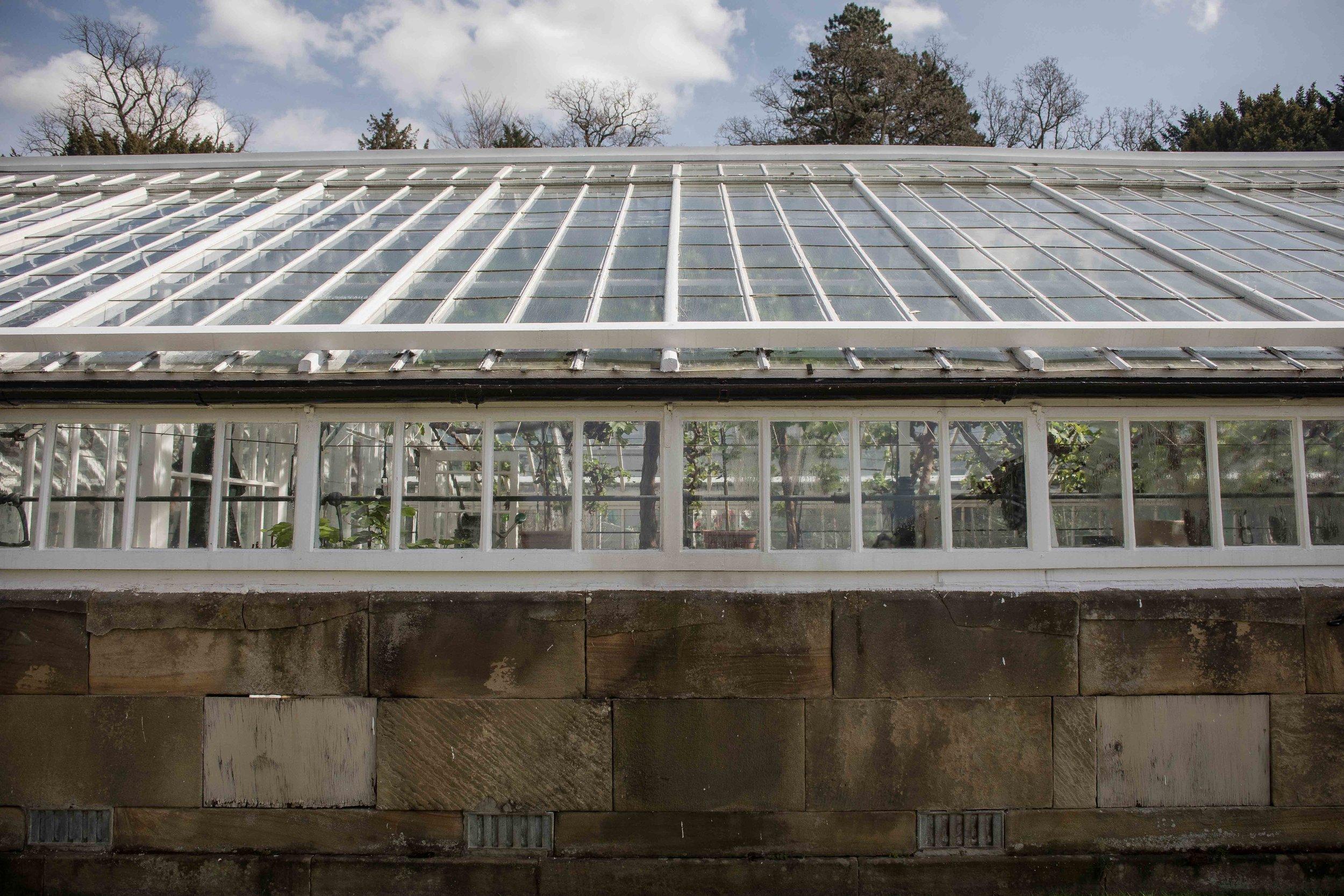 Chatsworth House Vinery built around 1834 by Joseph Paxton