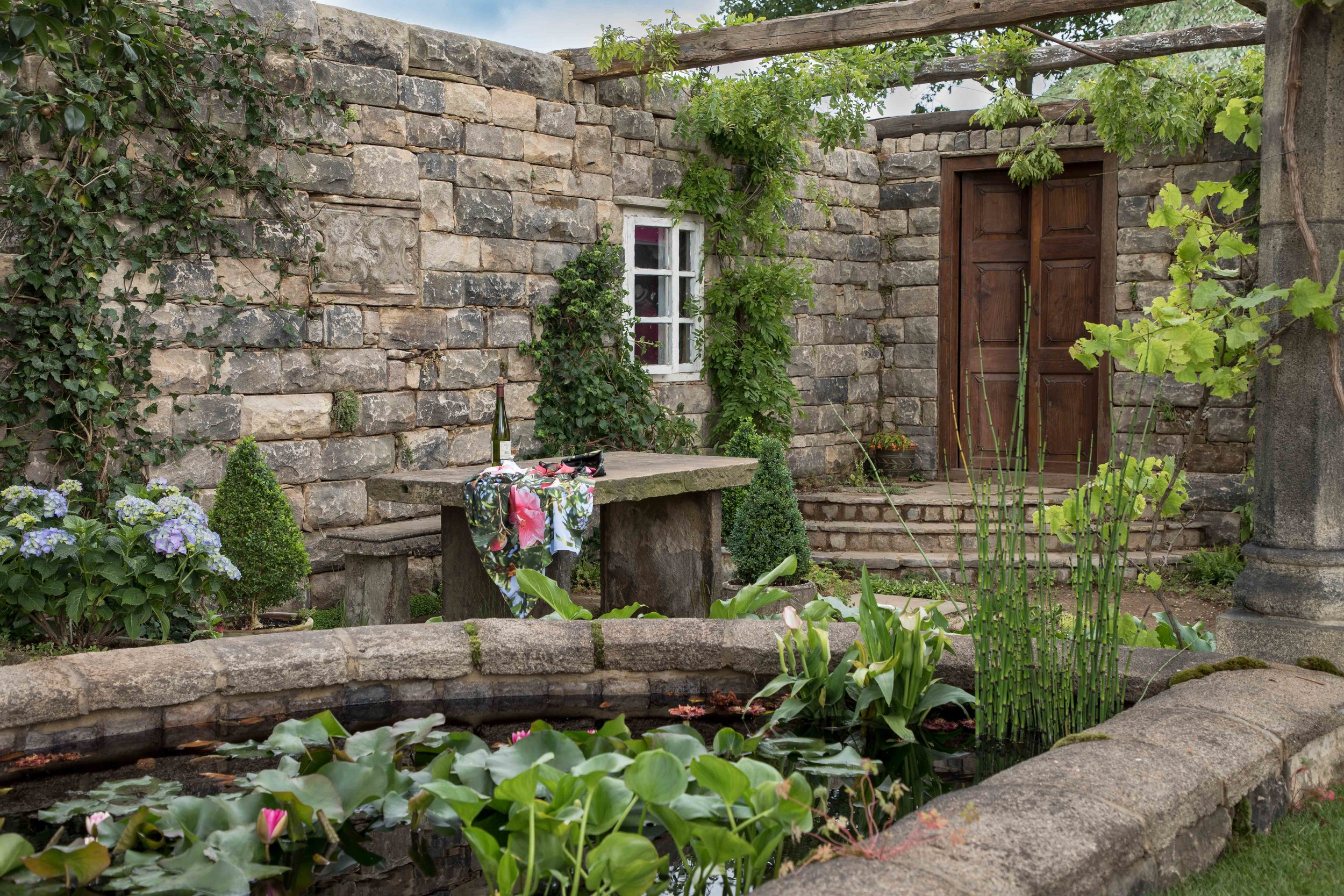 The Pazo's Secret Garden