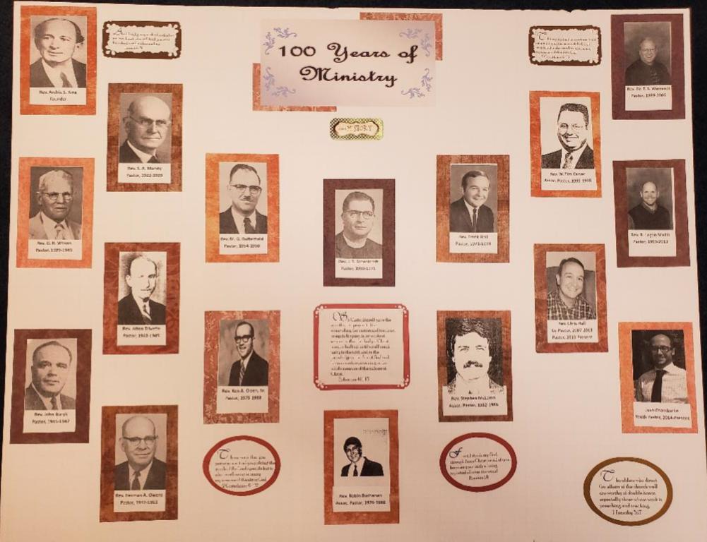 West Jax pastors 1919-2019