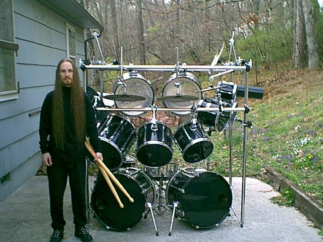 Definitely need to show up in time for load in if this guy is your drummer