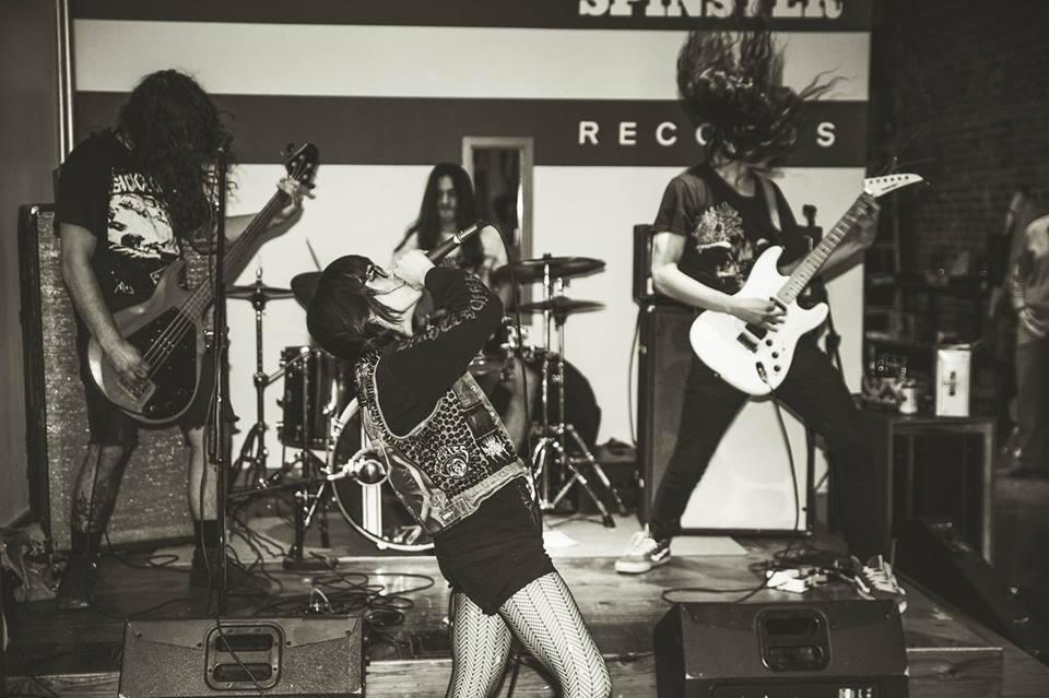 Vault Dweller Live at Spinster Records - Image via Vault Dweller's Facebook Page