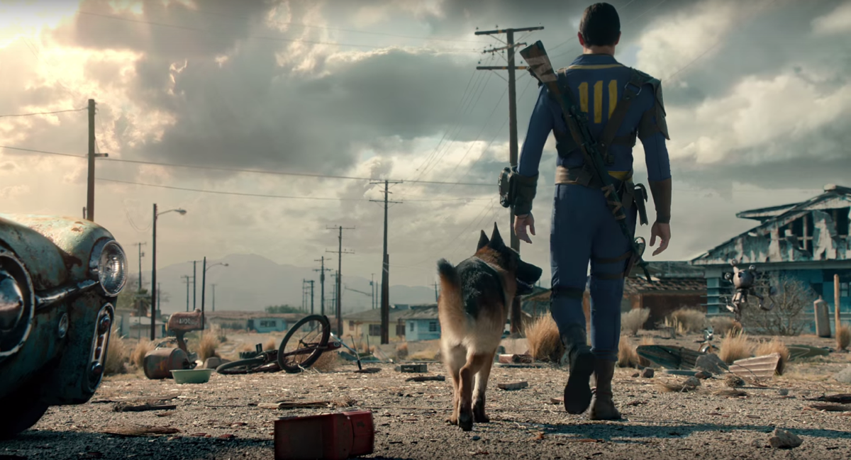 The Vault Dweller and Dogmeat - Image from  Fallout 4