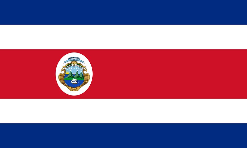 Costa Rica's Flag