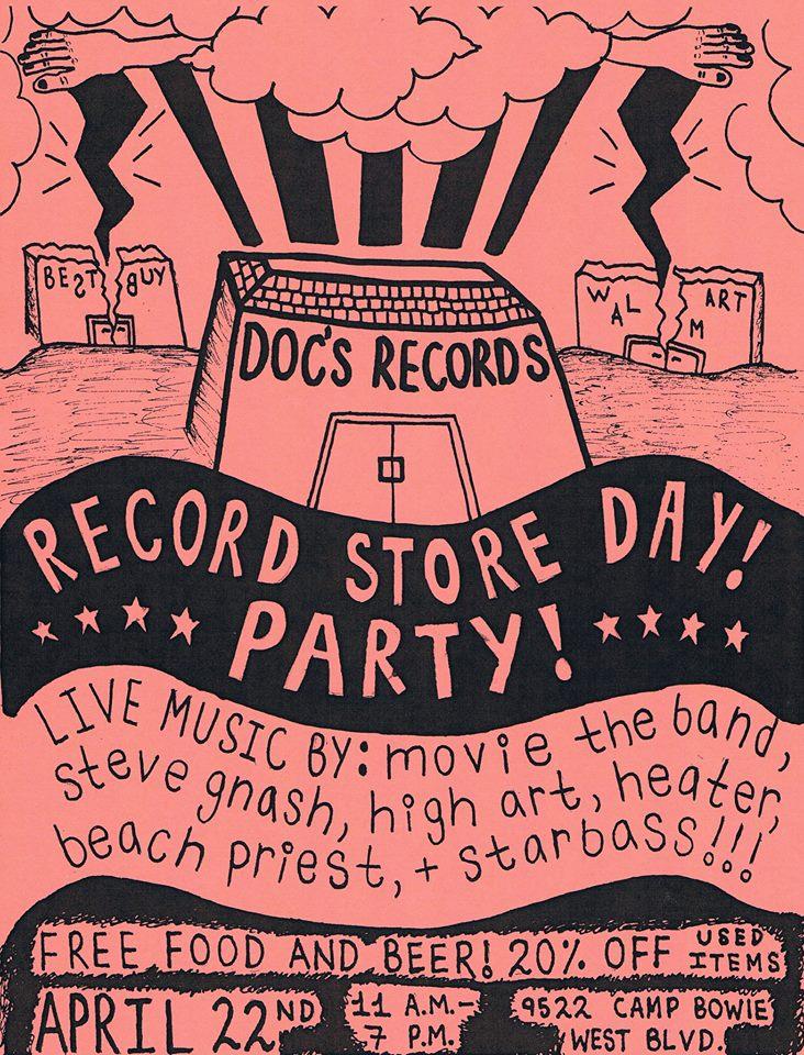 Image via Doc's Records Facebook Page