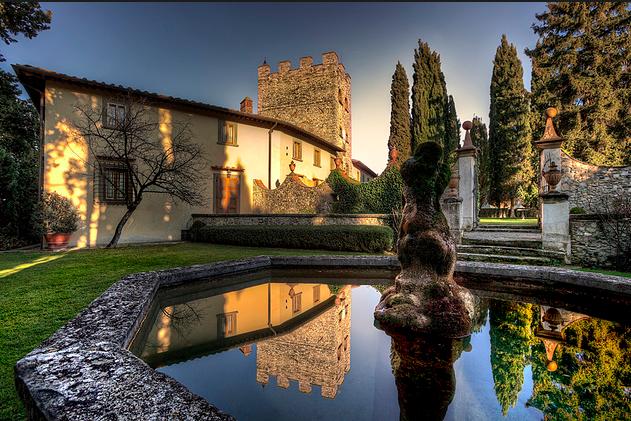 Castello Di Verrazzano Inside Gardens