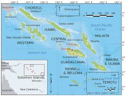The Solomon Islands, has a population of a little more than 500,000 people,