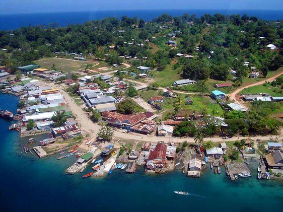 Honiara - Capital of the Solomon Islands
