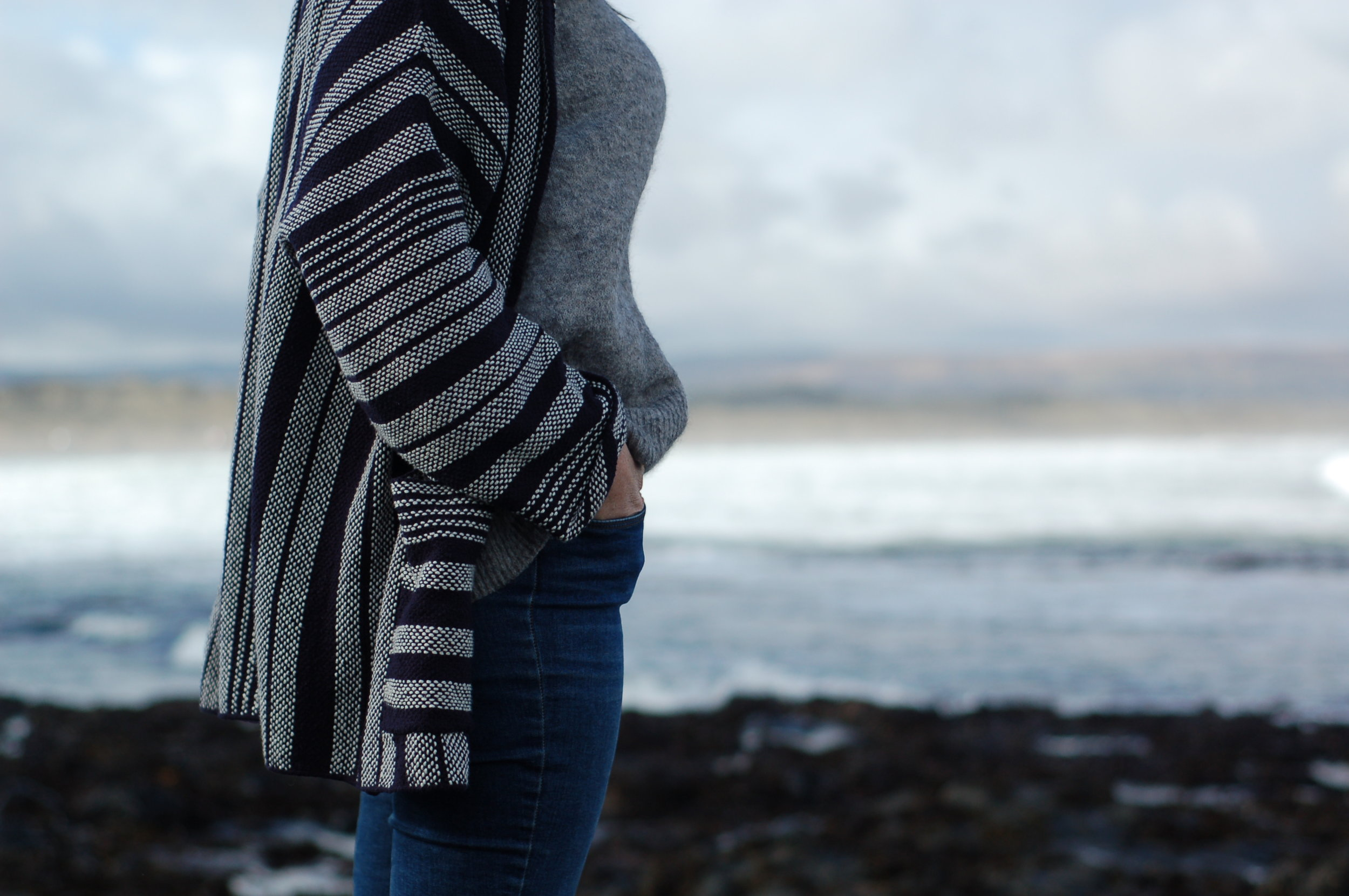 T  he perfect year-round cardigan c/o Thought Clothing (made from Organic Cotton)