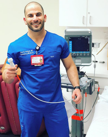 - Such a blast teaching our awesome PA students bedside echo yesterday! It's definitely one of my favorite scans, and can give us a ton of information when a patient rolls in with chest pain or shortness of breath.Ultrasound - Learn it, love it!@stanford.med @allheartscrubs Scrubs: @cherokeeuniforms Workwear Professionals