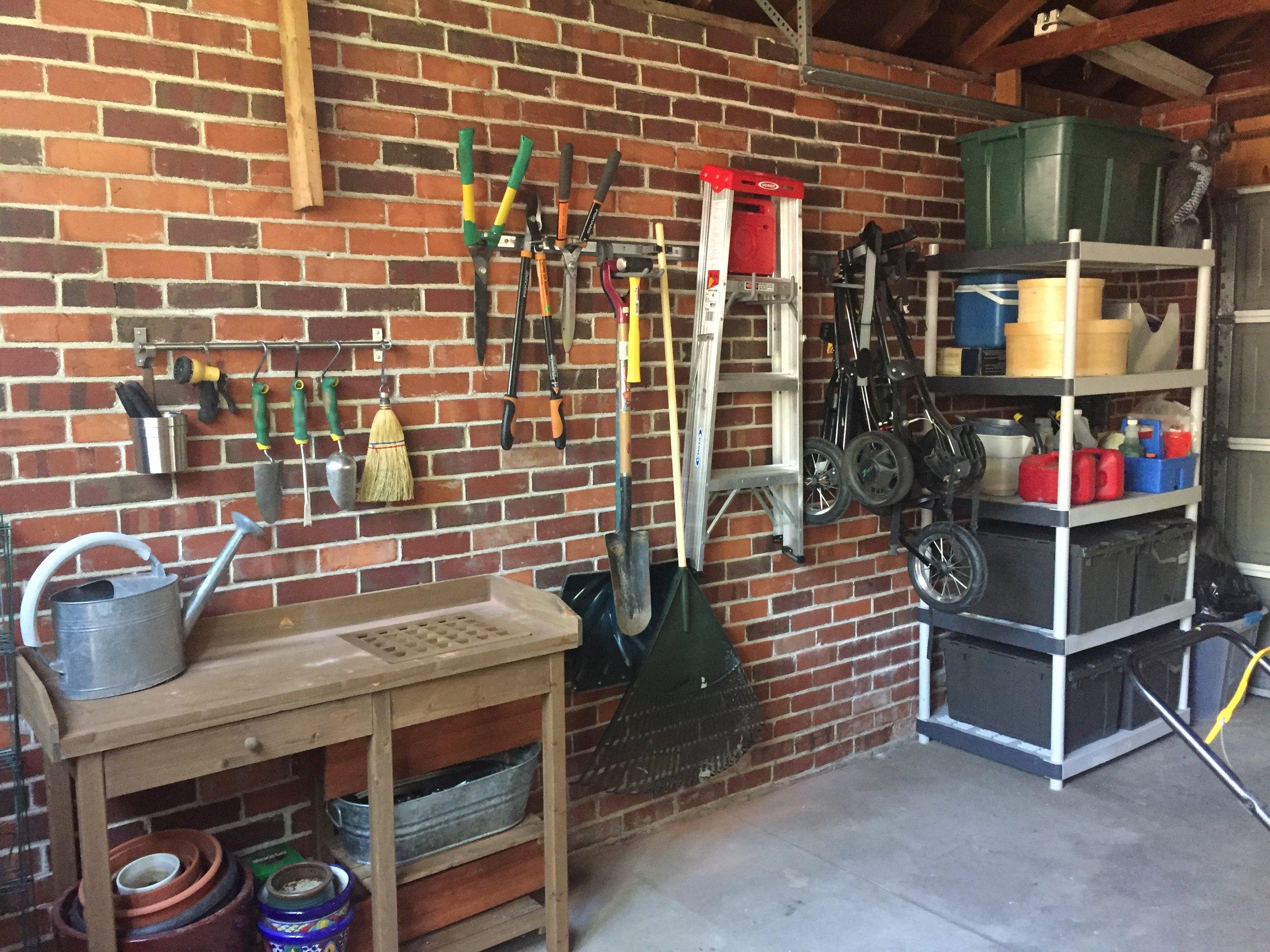 Garage, Basement + General Storage -