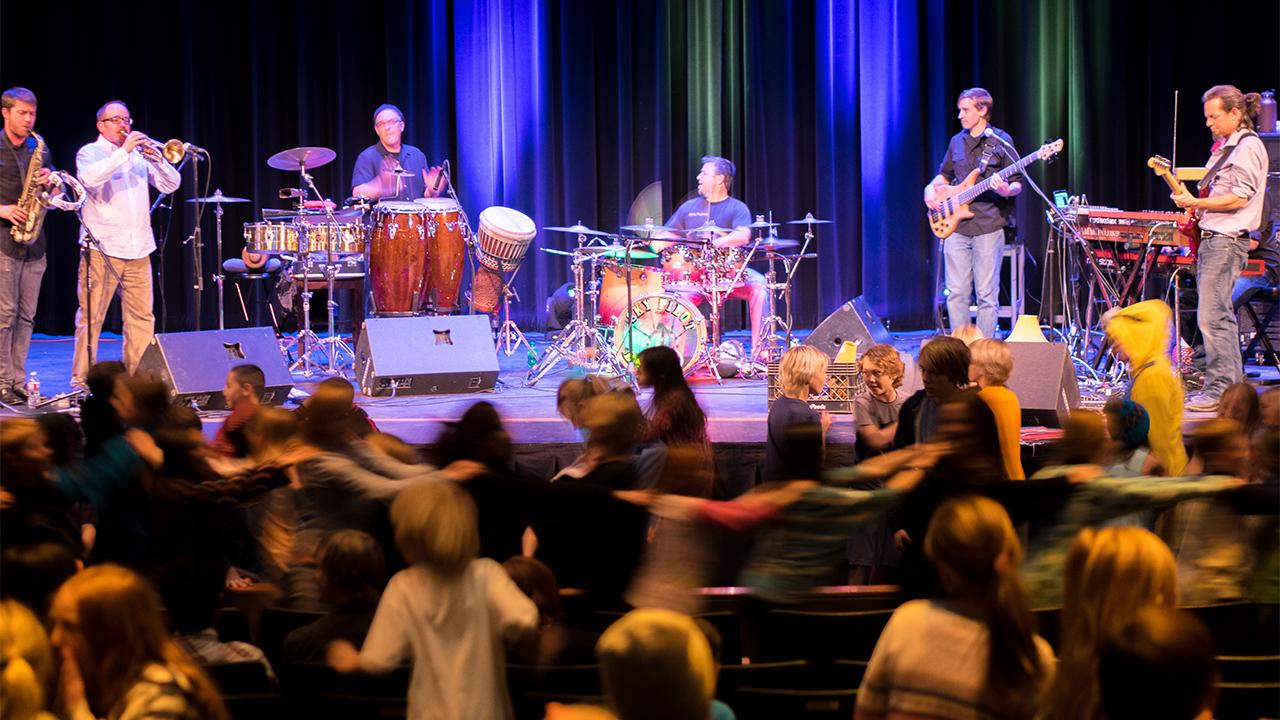 Telluride Jazz Festival   2016 Artists In The Schools Program