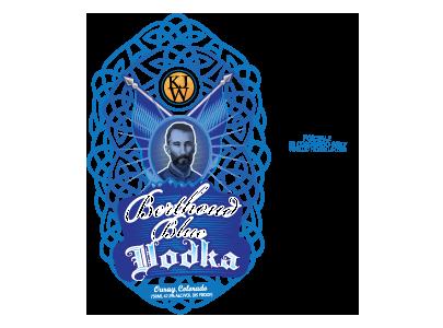 Berthoud Blue Vodka
