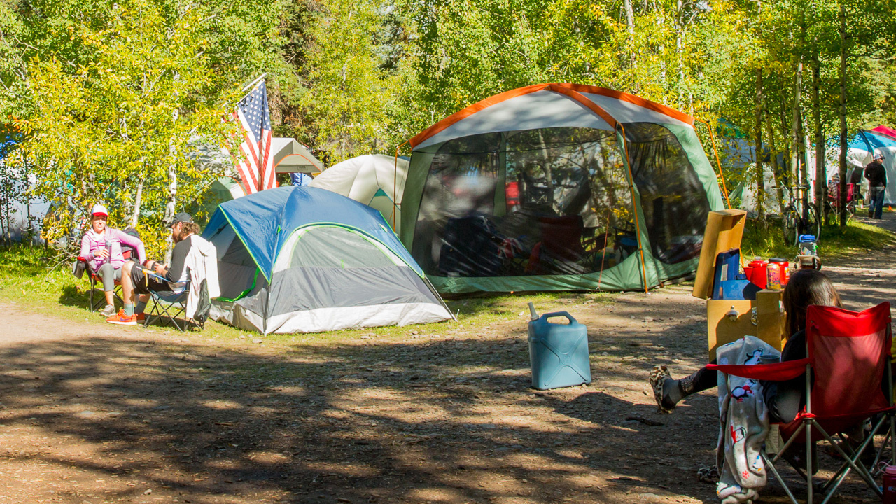 Camp out at the Festival in the heart of the Rocky Mountains in Telluride Town Park!