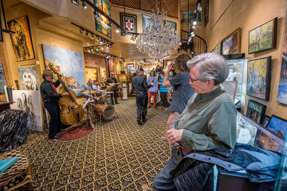 Jazz Art Walk | Telluride Jazz Festival